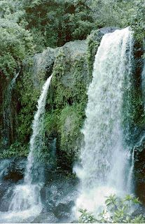 Waterfalls, Cairns, Australia. I took this back in 1989.