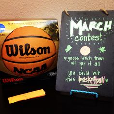 March Madness is one of our favorite times of the year!   Our March Contest is simple:  Guess which team will win it all for a chance to win an official NCAA basketball!  Simply write your name and the name of the team you pick to win!  All entries must be done by the time the Men's NCAA basketball championship tournament starts on March 18.   GOOD LUCK!