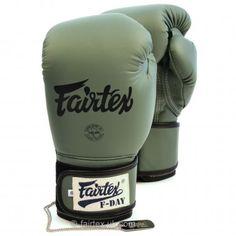 "Fairtex ""F-DAY"" Boxing Gloves - Soft green"