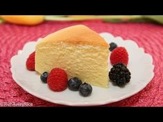 Cotton Cheesecake / Japanese Cheesecake | RunAwayRice