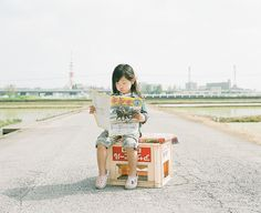 Photo by Toyokazu Nagano. She looks exactly like me at that age, to the point of being eerie