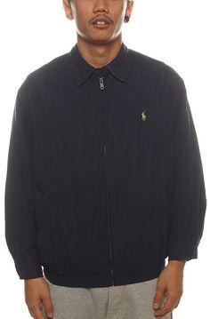 New Jack City Vintage Blue RL Polo Zip Jacket