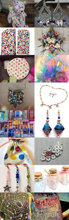 A Colorful Array by Debbie on Etsy--Pinned with TreasuryPin.com