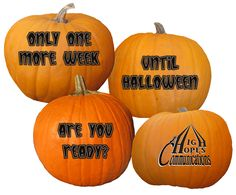 Only one more week until Halloween. Are you ready? www.highhopescommunications.ca