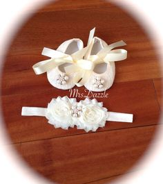 baby christening shoes baby baptism shoesbaby lace by MrsDazzle
