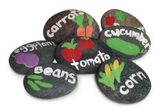 Proven Beauty | Gardening Inspiration | diy-kids-painted-rocks