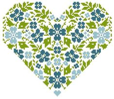 click on the line that has gratuit in it underneath the photo,  more flower hearts on same page