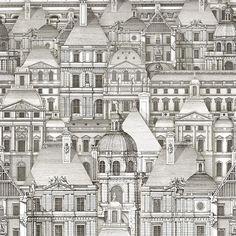 Louvre Wallpaper by MINDTHEGAP | Vertigo Home