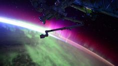 You Have to Watch This Amazing Video of the Aurora Borealis From Space