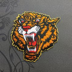 Tiger Back Patch Biker Patch Punk patches iron on patches Sew on patches Patches iron on patches patch jacket patches back patches Huge Patch tiger patch iron on patch sew on patch Animal motorcycle patch Bike patch tiger 3.99 USD #patches #iron on patches