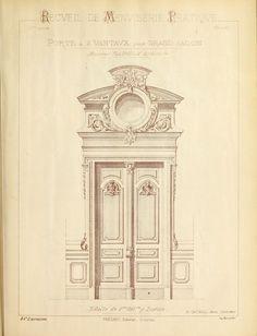 Recueil de menuiserie pratique 1858