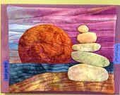 Serenity rocks : art quilt pattern tutorial
