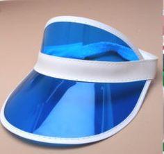 1pc Summer unisex outdoor Hat Neon Sun Visor Peak Cap Clear Plastic Sunvisor Party Hat Festival Fancy Dress Poker Headband-in Sun Hats from Men's Clothing & Accessories on Aliexpress.com | Alibaba Group