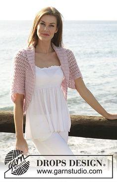 Sea Blush / DROPS 119-21 - Free knitting patterns by DROPS Design