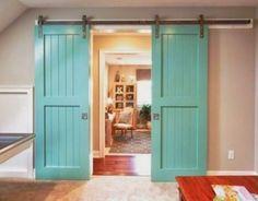 Necesitas puertas correderas (+ 21 ejemplos que te van a convencer)