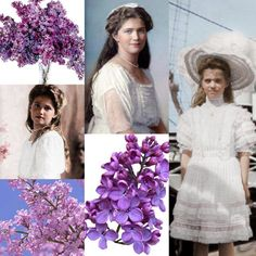 Grand Duchess Maria Nikolaevna Romanova of Russia ~ her favourite flower were lilacs.A♥W