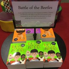 Life goals: To write a trilogy and see all three books on a table in Waterstones. Thankyou @waterstonesng 😊🙏❤️🐞💚🐞#beetleboy #beetlegirl #battleofthebeetles #mgleonard