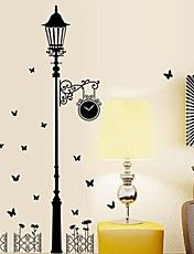 Wall Stickers Wall Decals Stree Light Feature... – USD $ 11.99