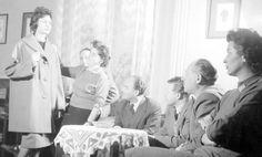 Divatbemutató a Május 1. ruhagyárban, 1960 Hungary, Coat, Fashion, Moda, Sewing Coat, Fashion Styles, Peacoats, Fashion Illustrations, Coats