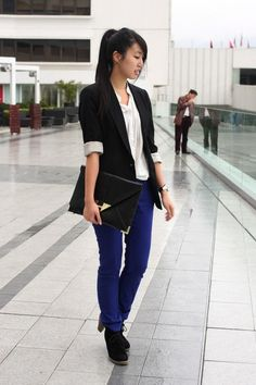 Black-cotton-on-boots-blue-forever-21-jeans-black-zara-blazer-white-random
