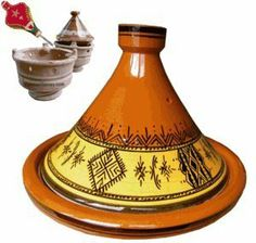 """Tagine Cooking Moorish Large 30cm By Zamouri Spices by Zamouri Spices, an Elbertai Company LLC. $59.95. Certified Lead Free. Cooking Tagine. 12"""" H x 12"""" W. Artisinal Hand-made Quality. Serves 4 - 5. This is an elegant and heavy handmade Terracotta Tagine .  It comes with a conical lid, featuring the unique Moroccan Mourish Design.  Traditionally used by Moroccans for cooking.  The Charcoal brazier in the picture is NOT included.  The item being sold is only the Tagine (d..."""