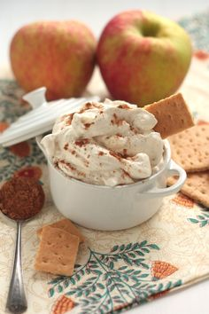 5-Minute Whipped Caramel Apple Dip - Country Cleaver
