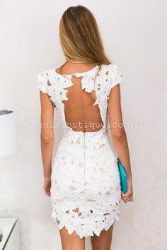 All For Love Dress (White)
