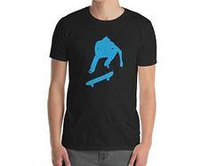 Boys Skateboard Shirt Skateboard Silhouette Graphic Shirt, skateboard clothing, a skateboarding tee, skateboard apparel Skateboard Bedroom, Skateboard Shelves, Skateboard Shirts, Skateboard Clothing, Graphic Shirts, Skateboarding, Silhouettes, Tees, Mens Tops