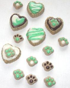 Decorating Dog Treats