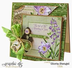 Scraps of Life: Graphic 45 - Time to Flourish March