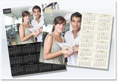 1 Page Calendar Printing - A professionally designed eye-catching 1 page calendar is always a good choice if you want your customers to know more about you.