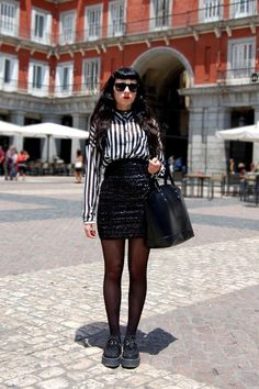 Street style by Ainoa in Madrid
