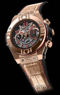 Hublot Big Bang World Poker Tour Gold