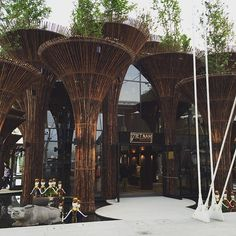 Buongiorno da #Expo2015! Ecco il Padiglione Vietnam.  Good Morning from #Expo2015! Here's Vietnam Pavilion.  Repost @montecristo79