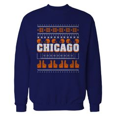 http://www.newtrendsclothing.com/category/ugly-sweater/ Chicago - Ugly Christmas Sweater