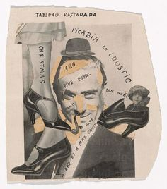 Picasso, Man Ray, Duchamp and Hannah Höch all feature in Dadaglobe, the magnificent unrealised opus by Tristan Tzara which is finally coming to fruition at New York's MoMA this summer Marcel Duchamp, Dada Collage, Art Du Collage, Digital Collage, Georges Braque, Harlem Renaissance, Man Ray, Moma, Sophie Taeuber Arp