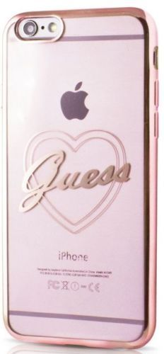 Guess-Signature-Heart-TPU-Case-for-iPhone-7-Plus-Rose-Gold