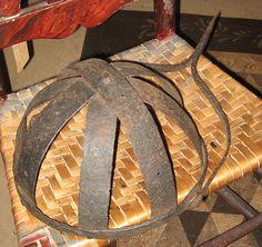 18th C. wrought iron Cresset