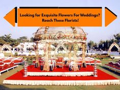 Looking for Exquisite Flowers For Weddings? Reach These Florists! #Florist #RamiBrothers #SurajFlorist #Flowers #Decor #CityShorAhmedabad