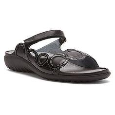 Naot Totara Black Raven Leather Black Patent Leather More custom orthotic  friendly shoes 3a079e6a393