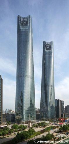 Jiangxi Nanchang Greenland Central Plaza, Parcel B - The Skyscraper Center