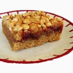 Ina's Peanut Butter and Jelly Bars