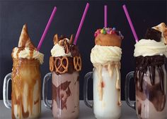 Check Out These EXTREME Milkshake Recipes!