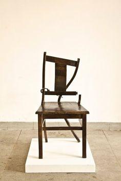 Yoan Capote(b. 1977)Doctrina, 2012Bronze86.2 x 42.5 x 44 cm; (34 x 16 3/4 x 17 3/8 in.)