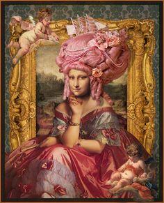 শিল্পীর   দৃষ্টি তে  মোনালিসা  https://flic.kr/p/23rjmYx | Rococo Mona..