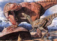 Thunder in the Delta , Deltadromeus , Carcharodontosaurus