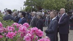 G7 Leaders Arrives At San Domenico In Taormina