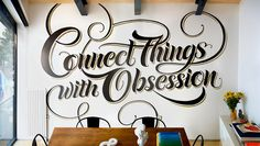 Connect Things with Obsession on Behance