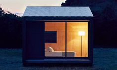 Now, for those looking to for the ultimate in cabin design, the beaufiul MUJI Huts are finally going to be on the market.