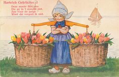 pc  mooie  bloemen HG  1933